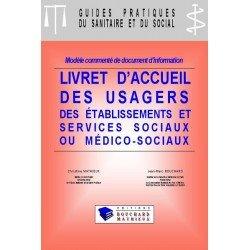 Livret d'accueil des usagers des établissements et services sociaux et médico-sociaux