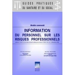 Livret d'information du personnel sur les risques professionnels