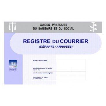 Registre du courrier (départs/arrivées)