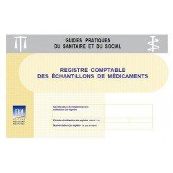 Registre comptable des échantillons de médicaments
