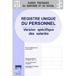 Registre unique du personnel : version spécifique - salariés