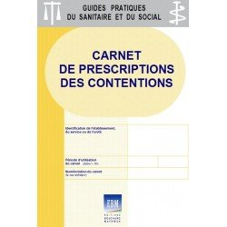 Carnet de prescriptions des contentions