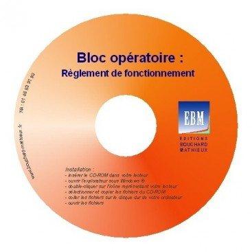 Bloc opératoire - Règlement de fonctionnement