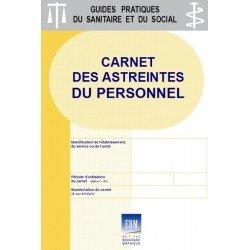 Carnet des astreintes du personnel (formulaires autocopiants)
