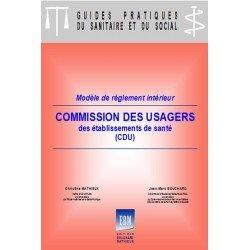 Commission des usagers : règlement intérieur