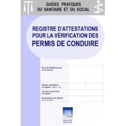 Registre d'attestations pour la vérification des permis de conduire