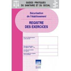 Sécurisation de l'établissement : registre des exercices