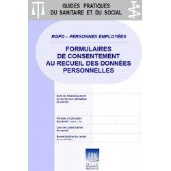 RGPD - PERSONNES EMPLOYÉES : formulaires de consentement au recueil des données
