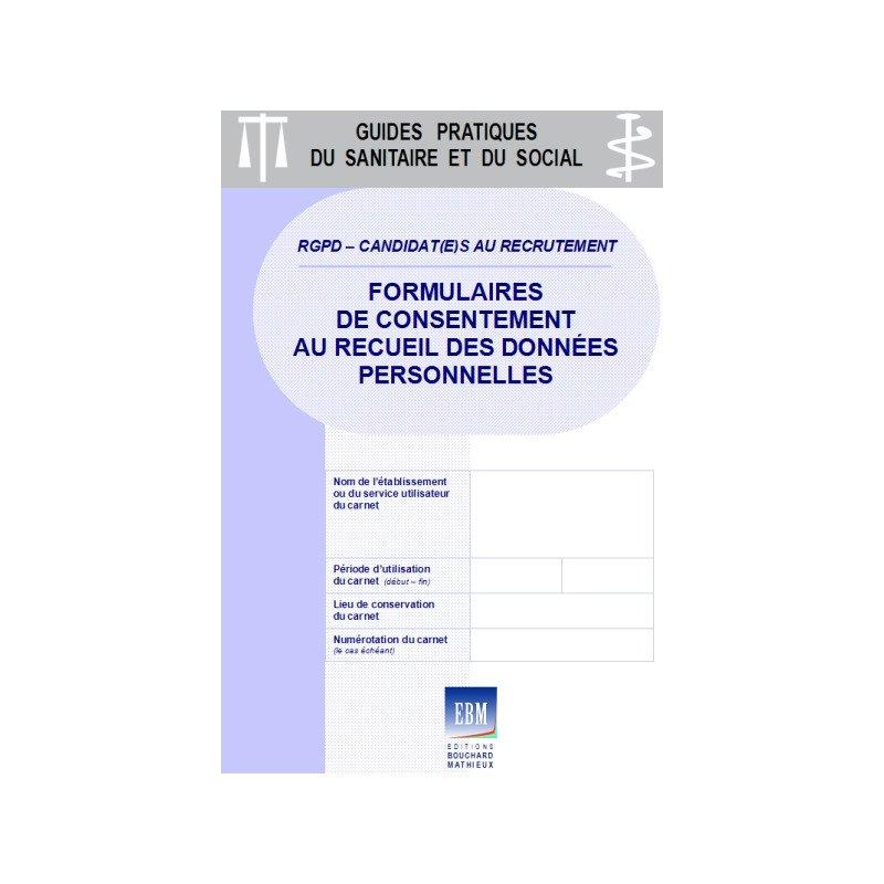 CANDIDATS AU RECRUTEMENT : Formulaires De