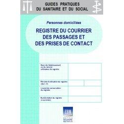 Personnes domiciliées : registre du courrier, des passages et des prises de contact