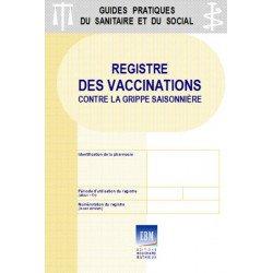 Registre des vaccinations contre la grippe saisonnière