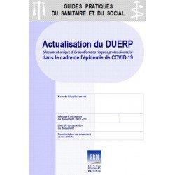 COVID-19 : Actualisation du document unique d'évaluation des risques professionnels