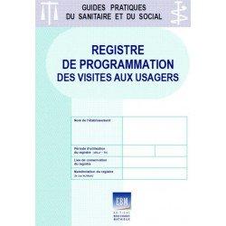 Registre de programmation des visites aux usagers (épidémie de COVID 19)