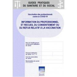 COVID-19 - Vaccination des professionnels : formulaires d'information et de recueil de décision