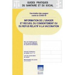 COVID-19 - Vaccination des usagers : formulaires d'information et de recueil de décision