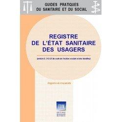 Registre de l'état sanitaire des usagers